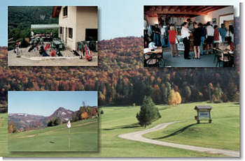 Golf de Saint Claude (jura-france)